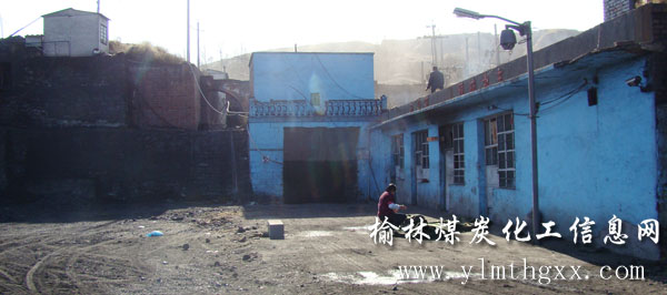 煤矿井口-神木西沟三道河沙渠煤矿