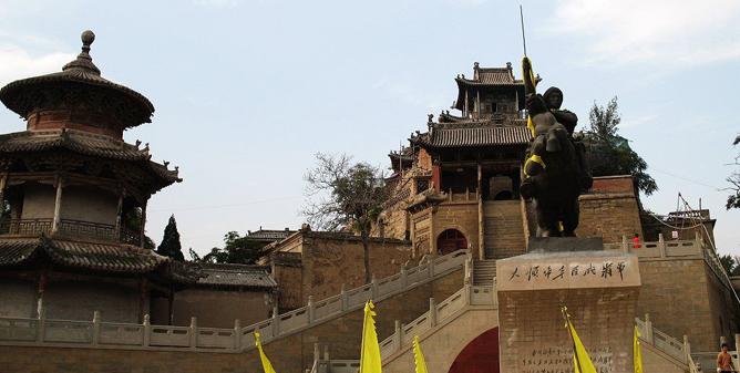 原创诗歌 米脂闯王行宫祭 (七律) - 圣地白鸽 - 圣地白鸽(莺鸣)的鸟巢