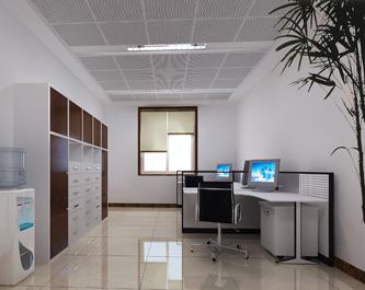 榆林人大单间办公室-室内效果图高清图片