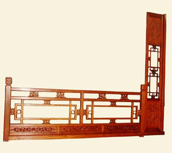 红木栏杆b1 产地:金华