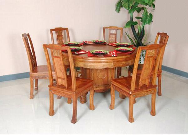 红木圆桌a1-金华红木楼梯