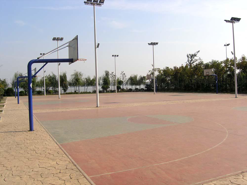 露天式篮球场1-重庆万州教育培训网-万州培训学校---.