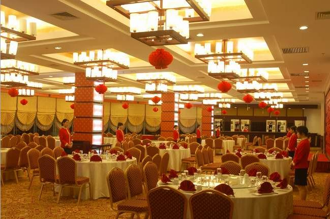 中餐厅_中餐厅效果图_酒店中餐厅