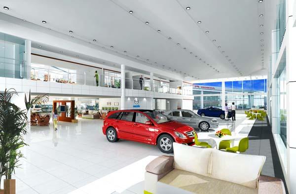 mazda展厅设计方案-成都逸境装饰工程有限公司