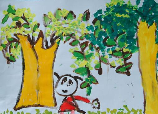 名称: 绘画作品2; 春天来了; 介绍 价格: 0.