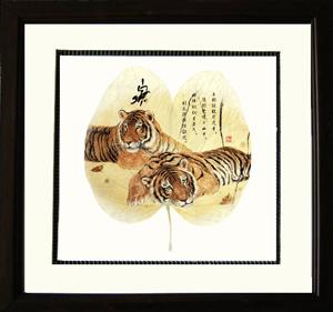 紫荆叶--叶脉画--中国114黄页