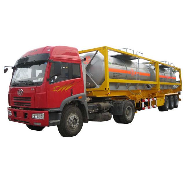 集装箱式罐式半挂运输车