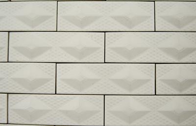 白色文化墙砖贴图素材
