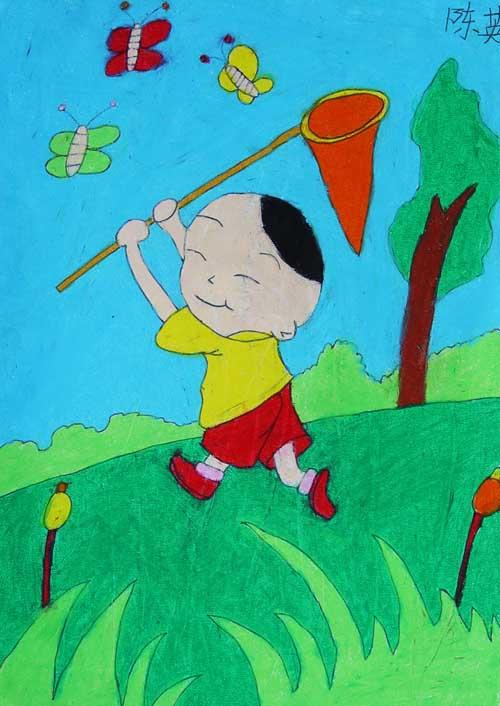 少儿美术班学员作品4-宝庆书画培训中心图片