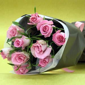 玫瑰花束包装步骤