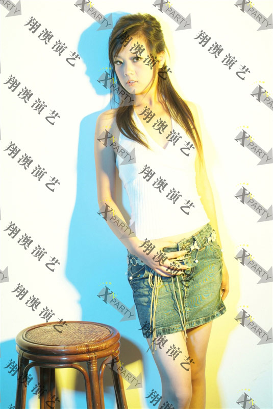 模特邱萍-身高170mm