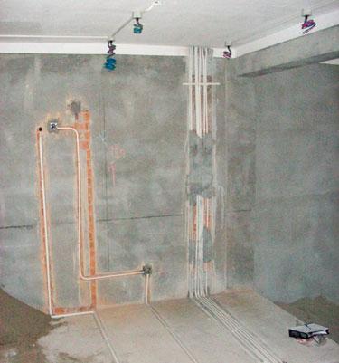 家庭装修水电布置图分享展示