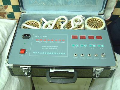 我们在设计治疗仪时,充分考虑到可以综合利用电磁