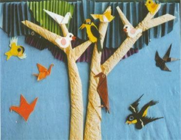 小燕子和树-柳荷幼稚园