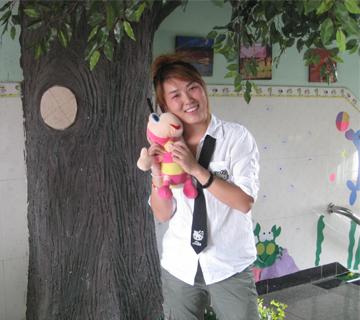 小一班教师-夏菲-遵化市二轻幼儿园|双语幼儿园|遵化