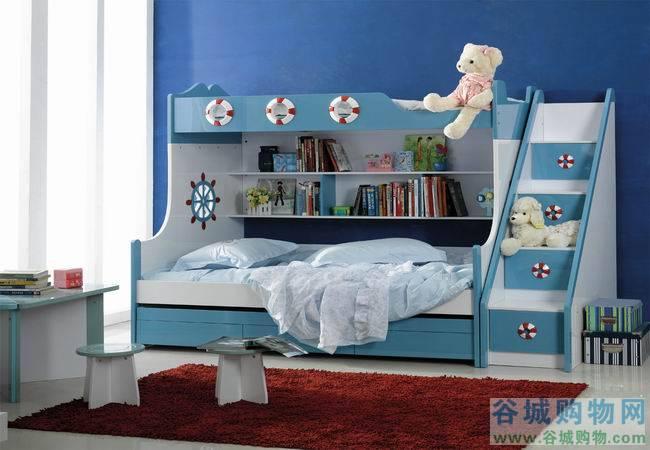 迪世乐园儿童三层床758-谷城购物网
