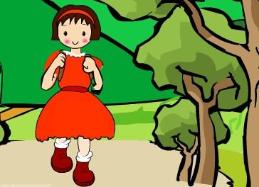采蘑菇的小姑娘-承德母婴育儿网