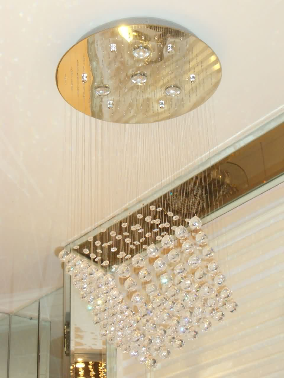 画光管和楼梯灯的电路图