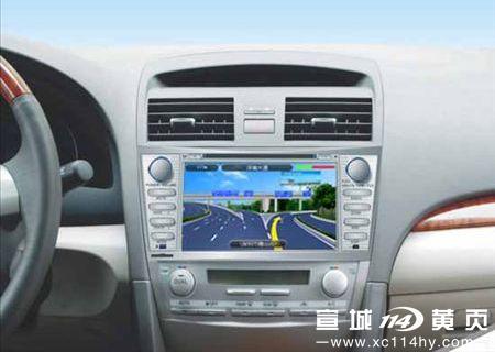 丰田凯美瑞dvd导航-宣城阿龙车饰|宣城汽车装潢|宣城