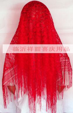 新娘红盖头
