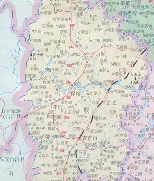 鹤山市沙坪市地图