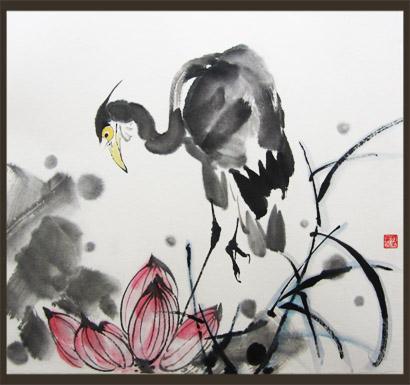 作者名称:彭佑湘   国画动物画   作品编号:pyxghdw5 尺寸规格:小品