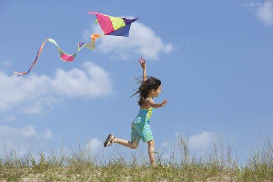 儿童简单风筝图案