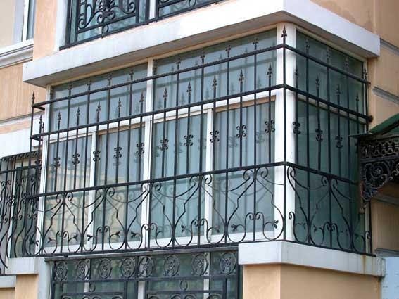 for Balcony full grill design